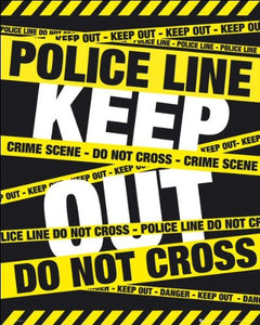 Police Tape (Keep Out) - Mini Poster - 40cm x 50cm