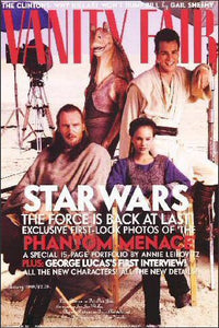 The Phantom Menace Vanity Fair Poster