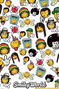 Smiley World (Music Genres) - Maxi Poster - 61cm x 91.5cm