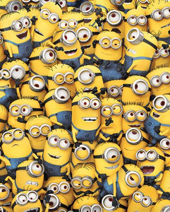 Pyramid International Many Minions Despicable Me Mini Poster, Plastic/Glass, Multi-Colour, 40 x 50 x 1.3 cm