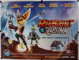 RATCHET & CLANK (Quad) Cinema Poster