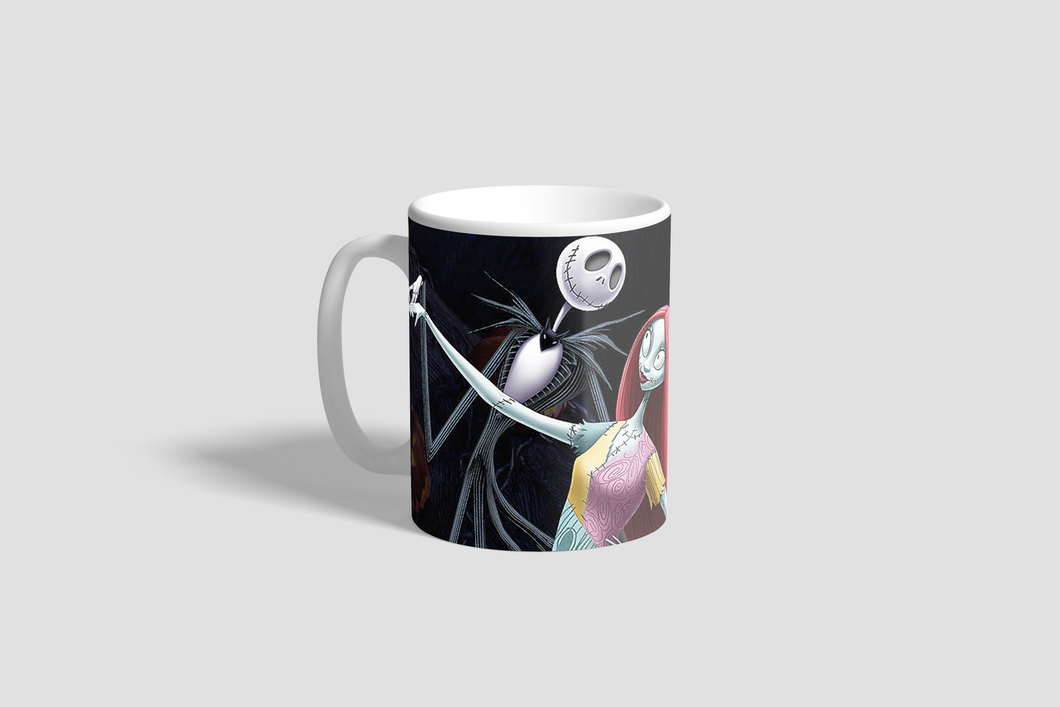 Jack and Sally Dancing Mug