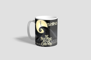 Nightmare Before Christmas Poster Mug