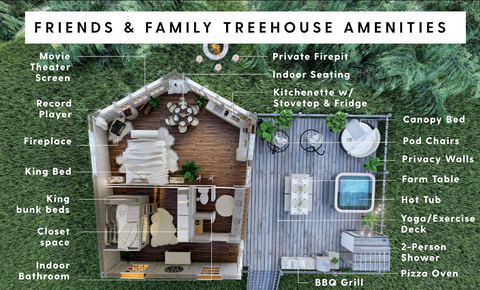 FRIENDS & FAMILY TREEHOUSE
