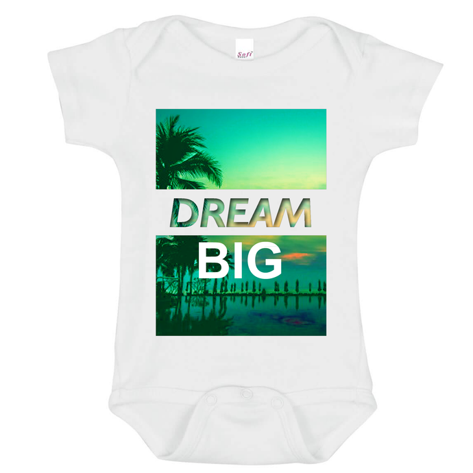 DREAM BIG Baby Onesie - Goo Goo Blah Blah