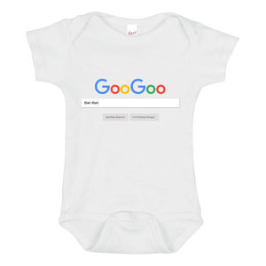 GooGoo Search Baby Onesie - Goo Goo Blah Blah