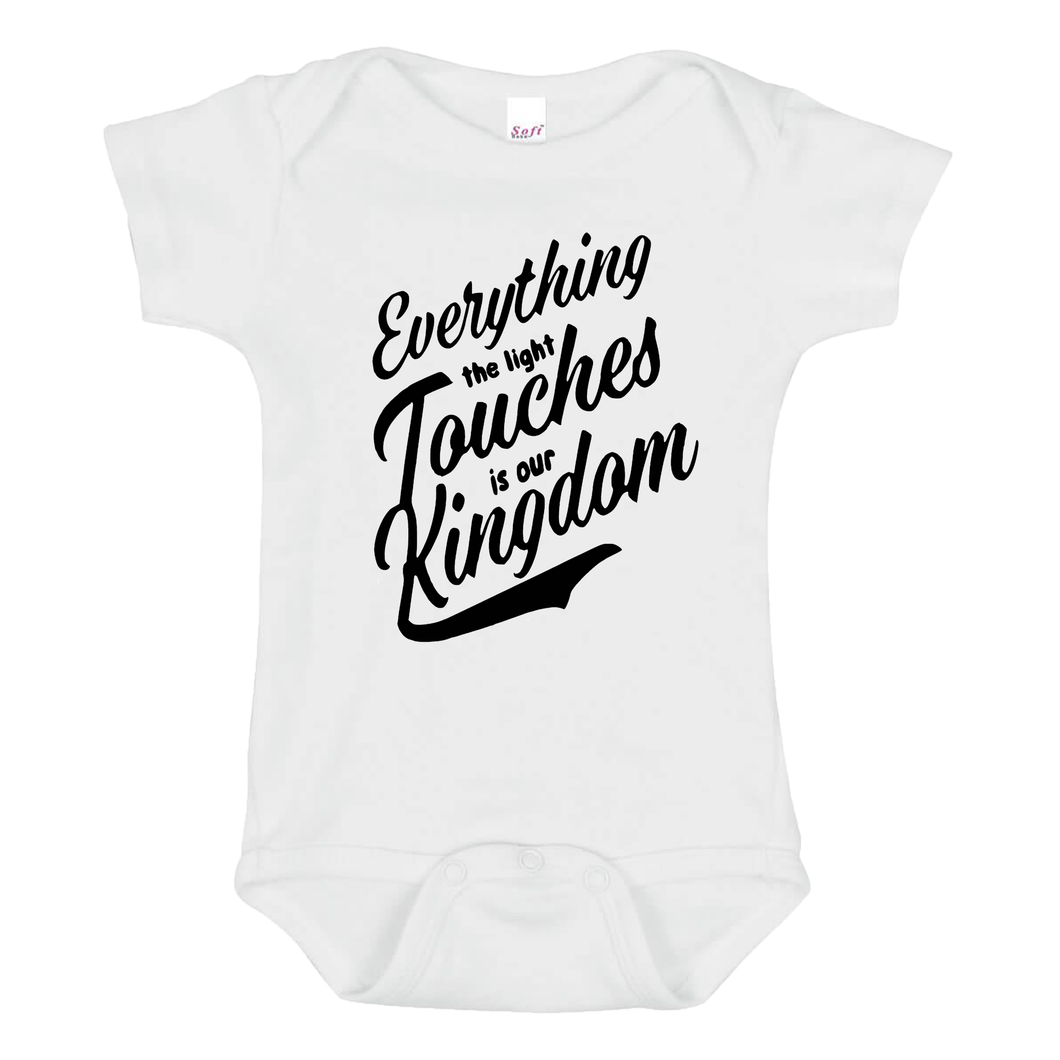 Our Kingdom Baby Onesie - Goo Goo Blah Blah