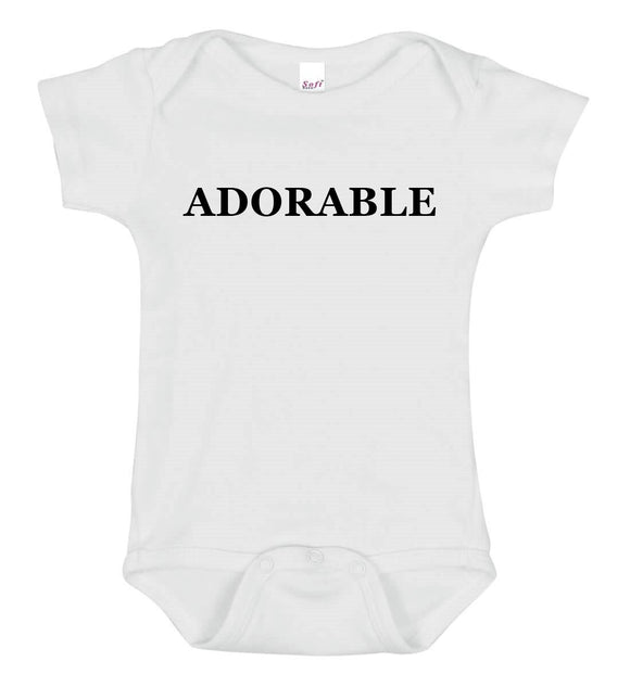 Adorable Baby One Piece Bodysuit - Goo Goo Blah Blah