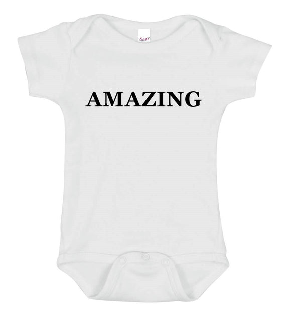 Amazing Baby One Piece Bodysuit - Goo Goo Blah Blah
