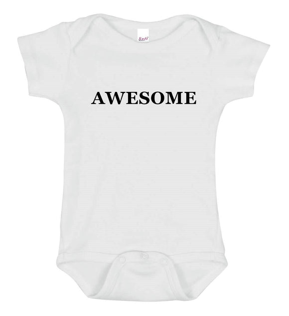 Awesome Baby One Piece Bodysuit