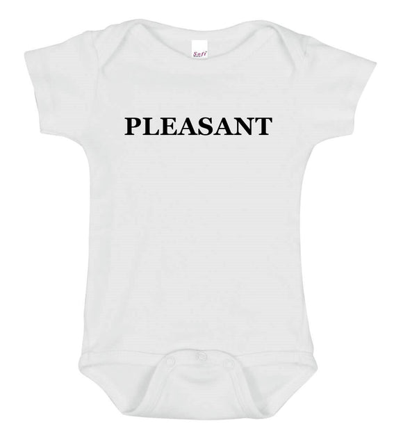 Pleasant Baby One Piece Bodysuit