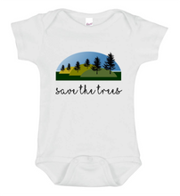 Save The Trees Onesie - Goo Goo Blah Blah