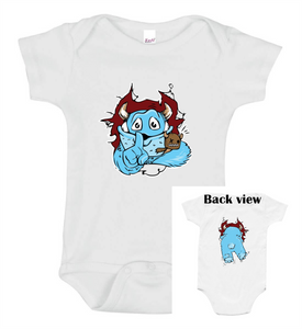 Pop-out Monster Onesie - Goo Goo Blah Blah