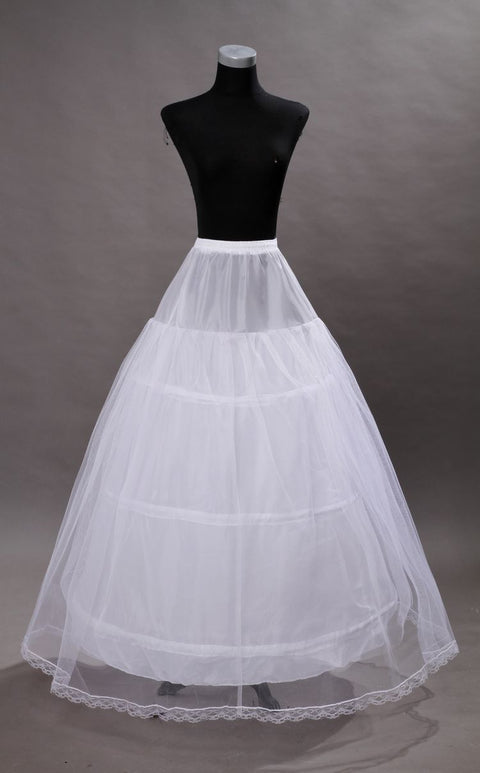 3 Hook Royal Gown Petticoat - Morticia's Desire