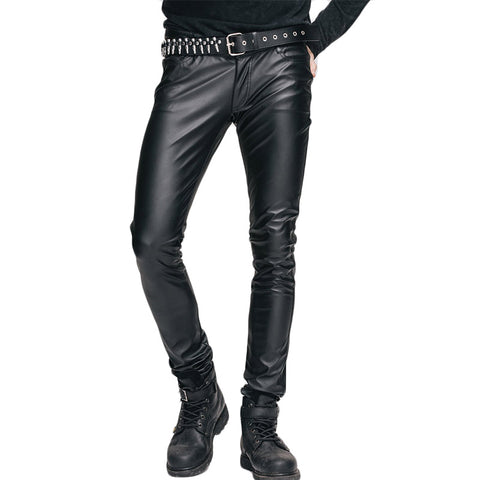 Shiny Stretch Tight Pants - Punk Goth Gothic - Morticia's Desire