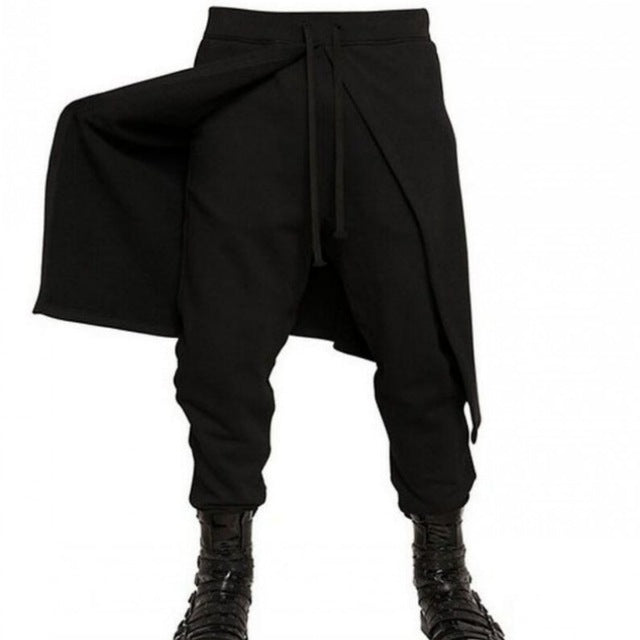 Harem Long Loose Fit Pants - Punk Goth Gothic - Morticia's Desire