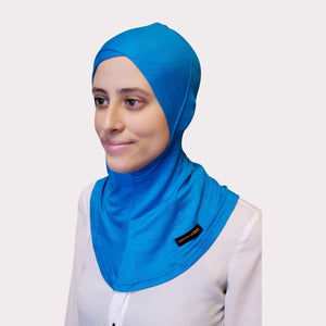 Aqua Modal Full Coverage Underscarf