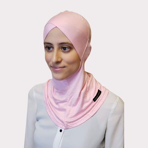 Baby Pink Modal Full Coverage Underscarf