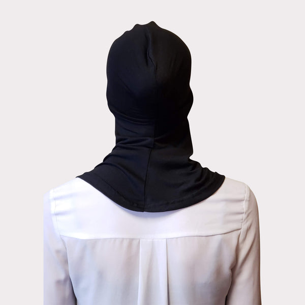 Black Modal Full Coverage Underscarf