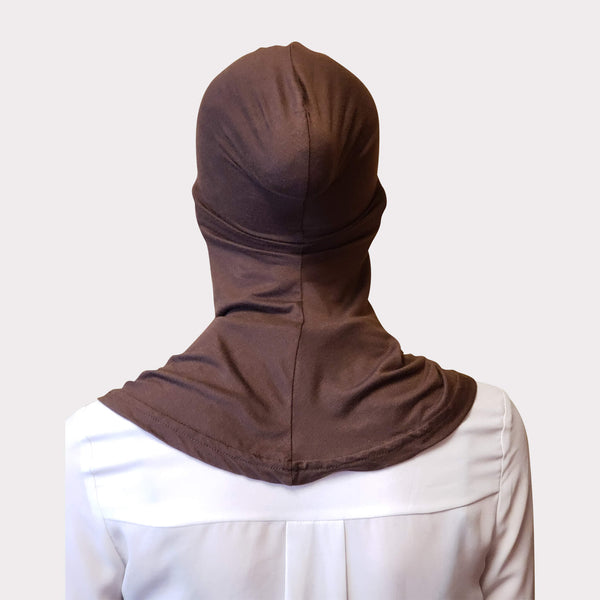 Brown Modal Full Coverage Underscarf
