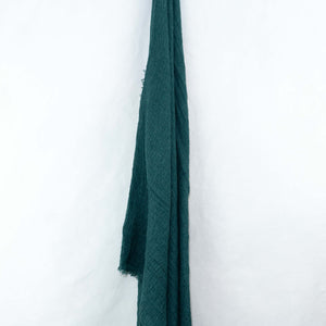 Emerald Green Cotton Crinkle Hijab