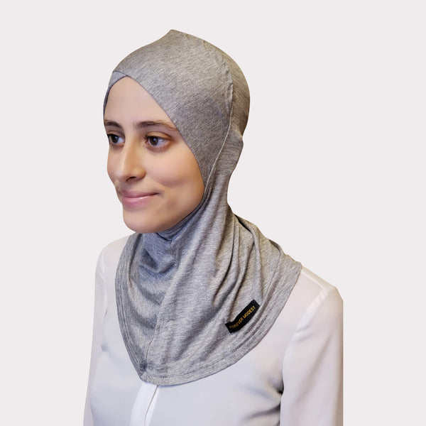 Gray Modal Full Coverage Underscarf