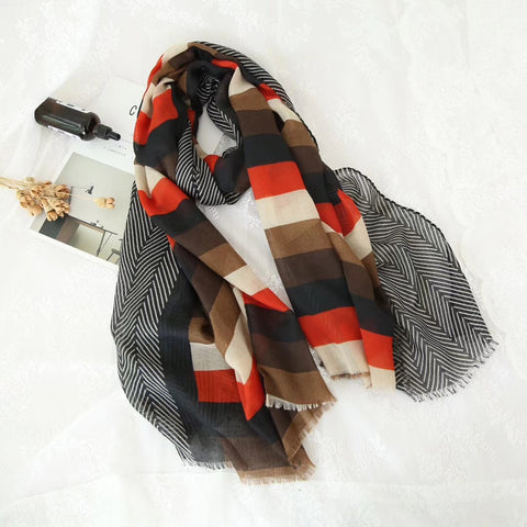 The Cardinal Stripe Hijab