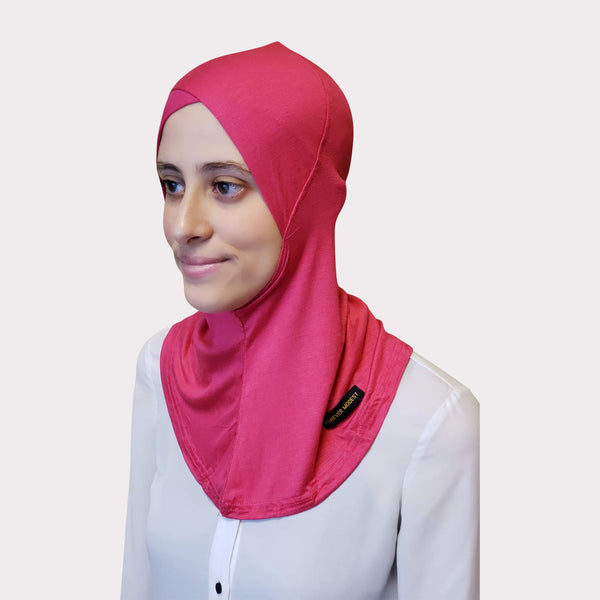 Magenta Modal Full Coverage Underscarf