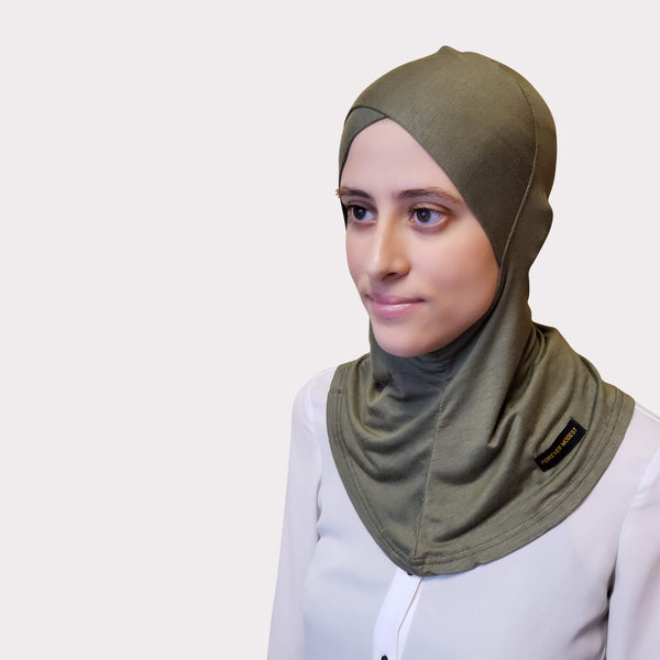 Olive Modal Full Coverage Underscarf