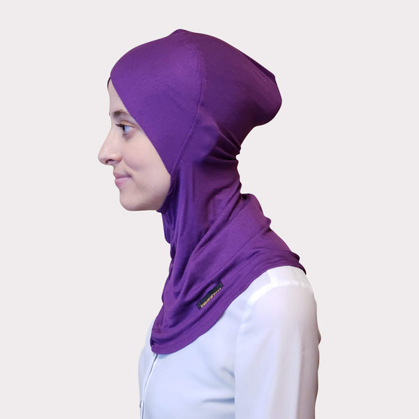 Purple Modal Full Coverage Underscarf