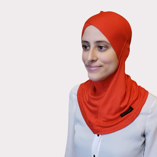 Red Modal Full Coverage Underscarf