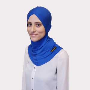 Royal Blue Modal Full Coverage Underscarf