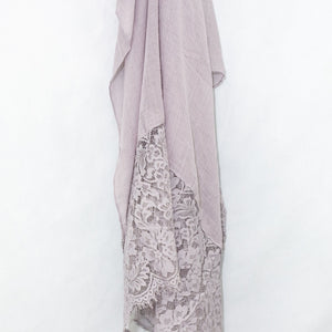 Thistle Premium Lace Cotton Viscose Hijab
