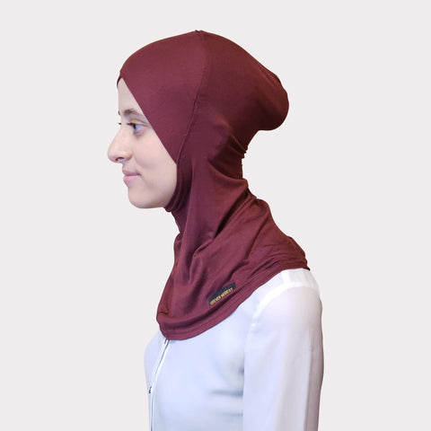 Wine Modal Full Coverage Underscarf