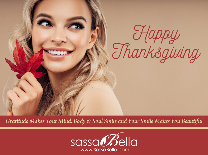Happy Thanksgiving! - Gratitude Makes You Beautiful!