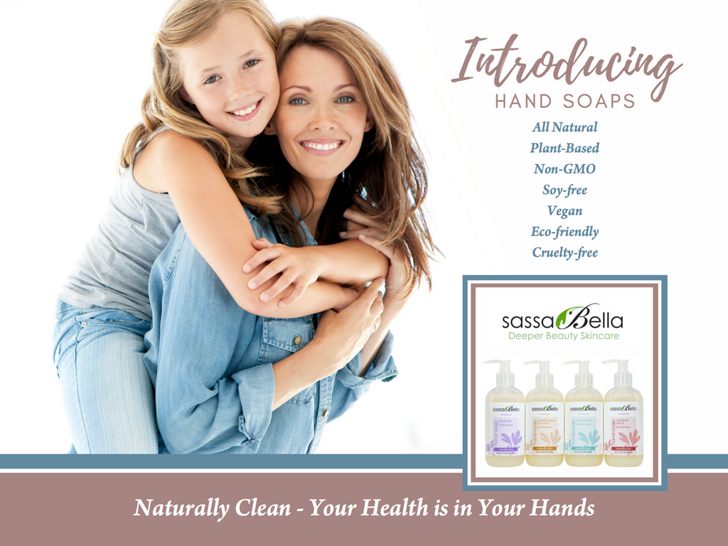 Introducing Hand Soaps - Your Health is in Your Hands!