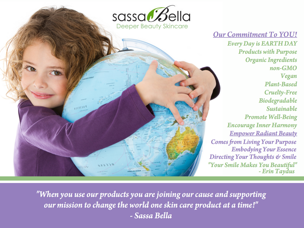 Every Day is EARTH DAY at Sassa Bella