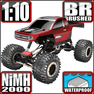 Redcat Racing Everest 10 Crawler - Red/Black