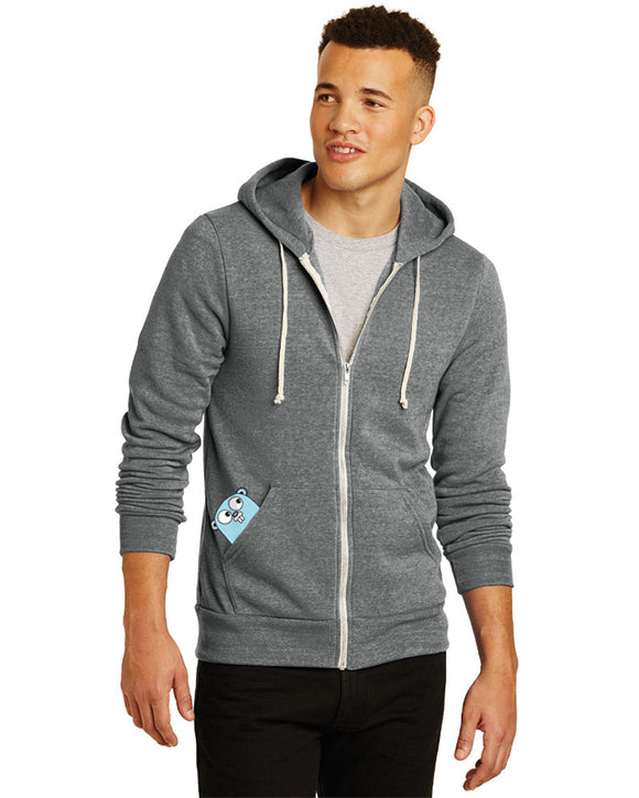 Men's Eco-Fleece™ Rocky Hooded Full-Zip Sweatshirt