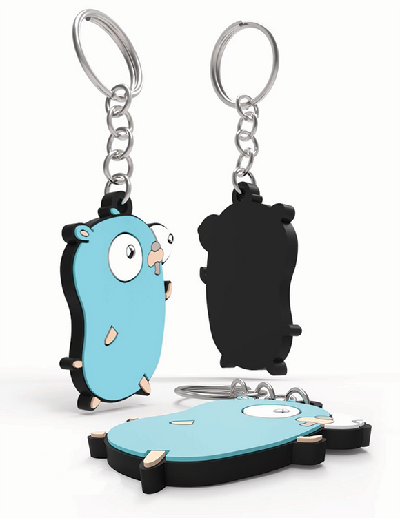 Gopher Running Key-fob