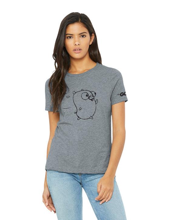 Gopher Running Tee (Ladies')