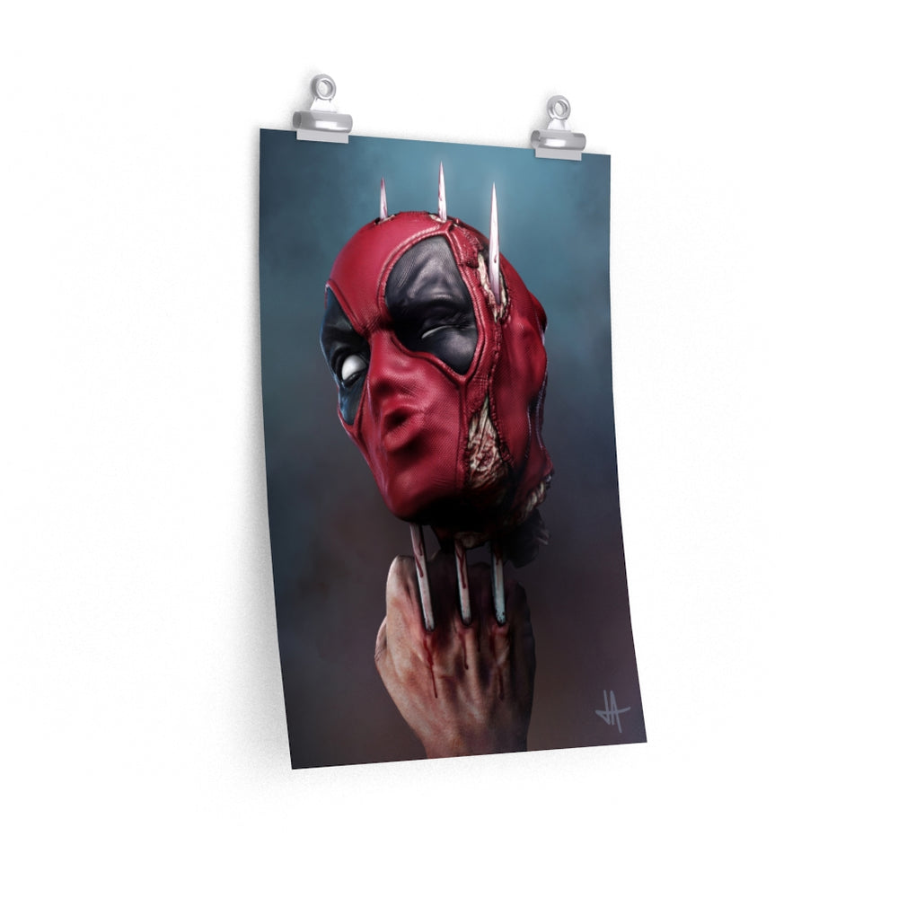 Poster KISS OF DEATH...POOL? Unlimited Premium Matte vertical posters - Tattooed Theory