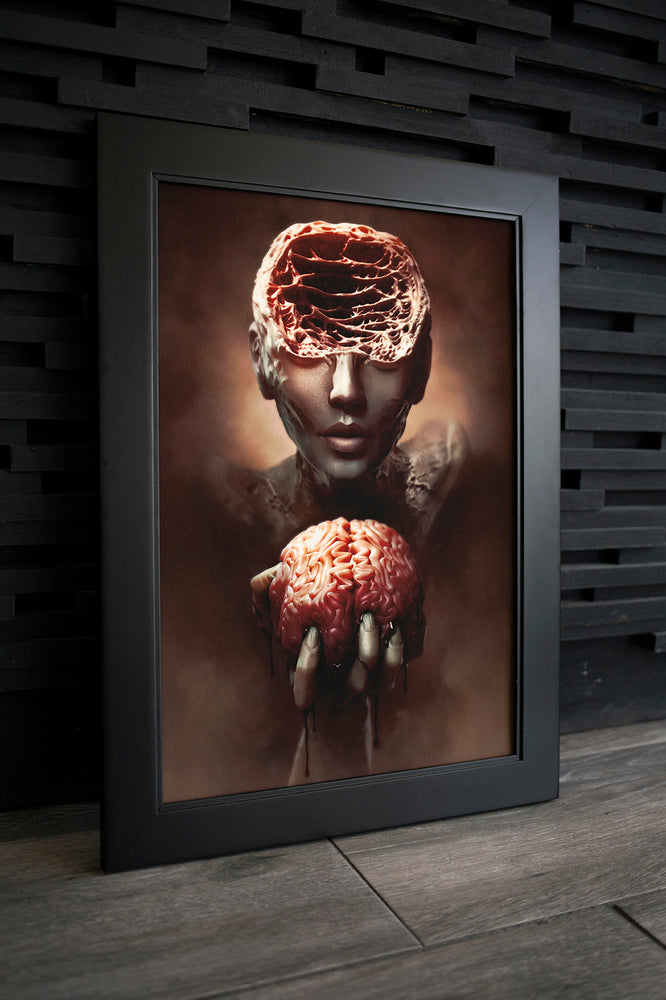 "Load image into Gallery viewer, Prints ""ANXIETY"" Limited Art Print - Tattooed Theory"