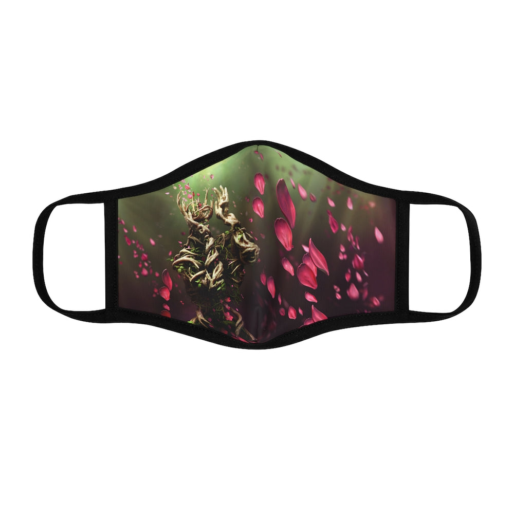Accessories MOTHER OF NATURE - Fitted Polyester Face Mask - Tattooed Theory