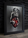 """HELL CAT"" Limited Art Print"