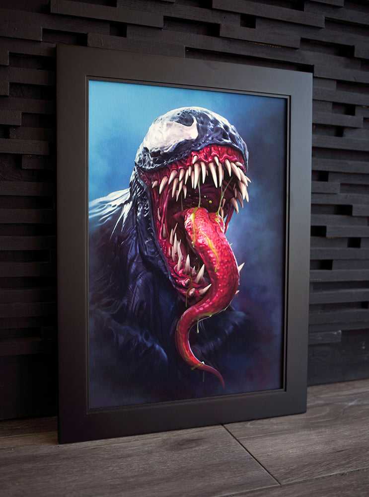 "Load image into Gallery viewer, Prints ""VENOM"" Limited Art Print - Tattooed Theory"