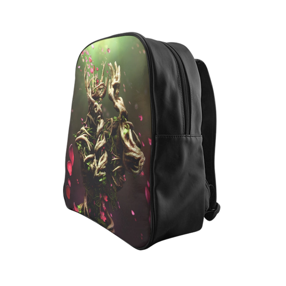 Load image into Gallery viewer, Mother of Nature - School Backpack