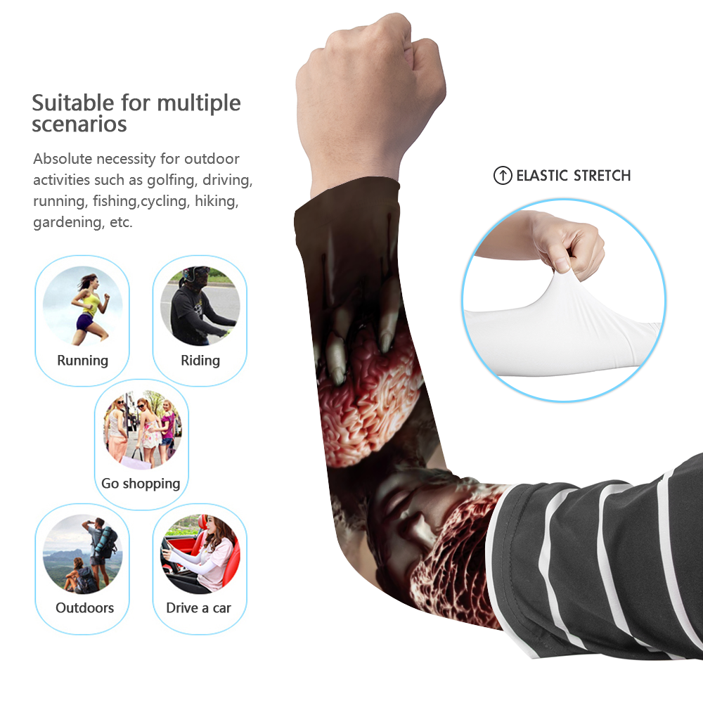 Load image into Gallery viewer, Anxiety UV arm Sleeve - pair