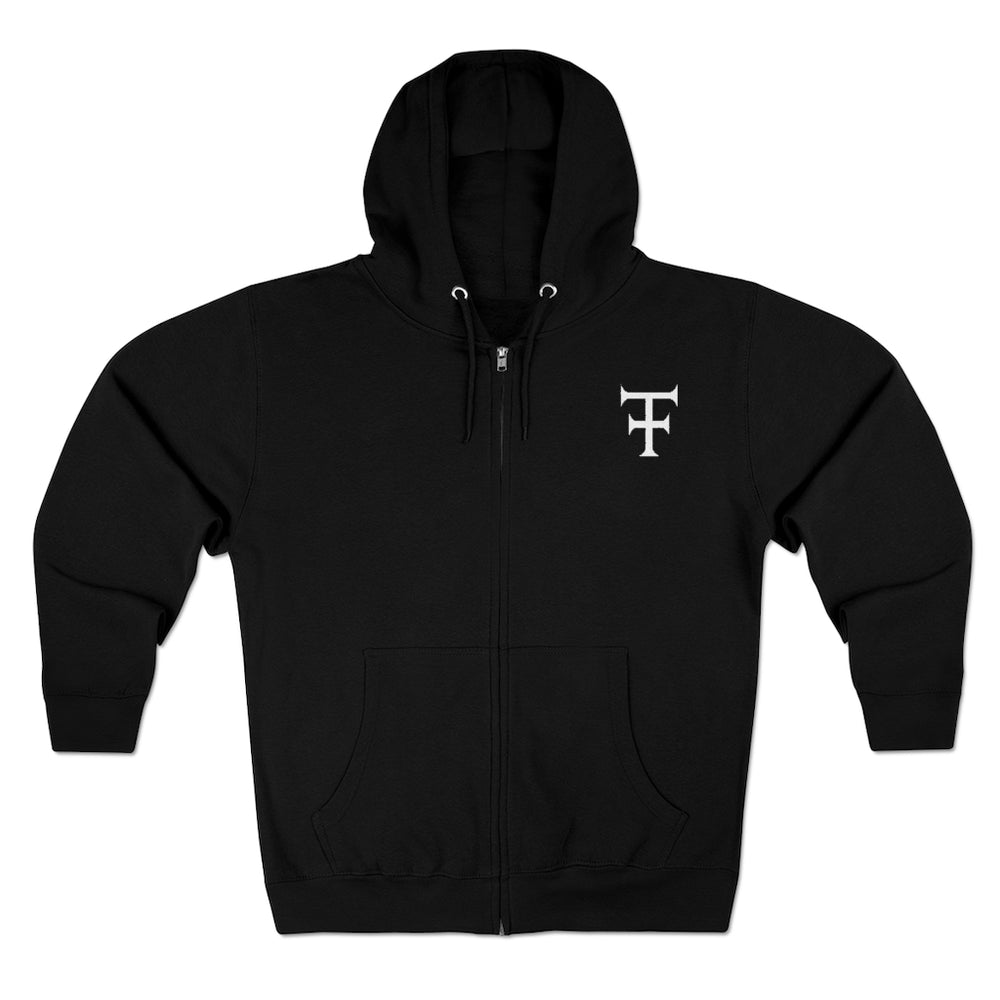 Load image into Gallery viewer, Hoodie THINKER - Unisex Premium Full Zip Hoodie - Tattooed Theory