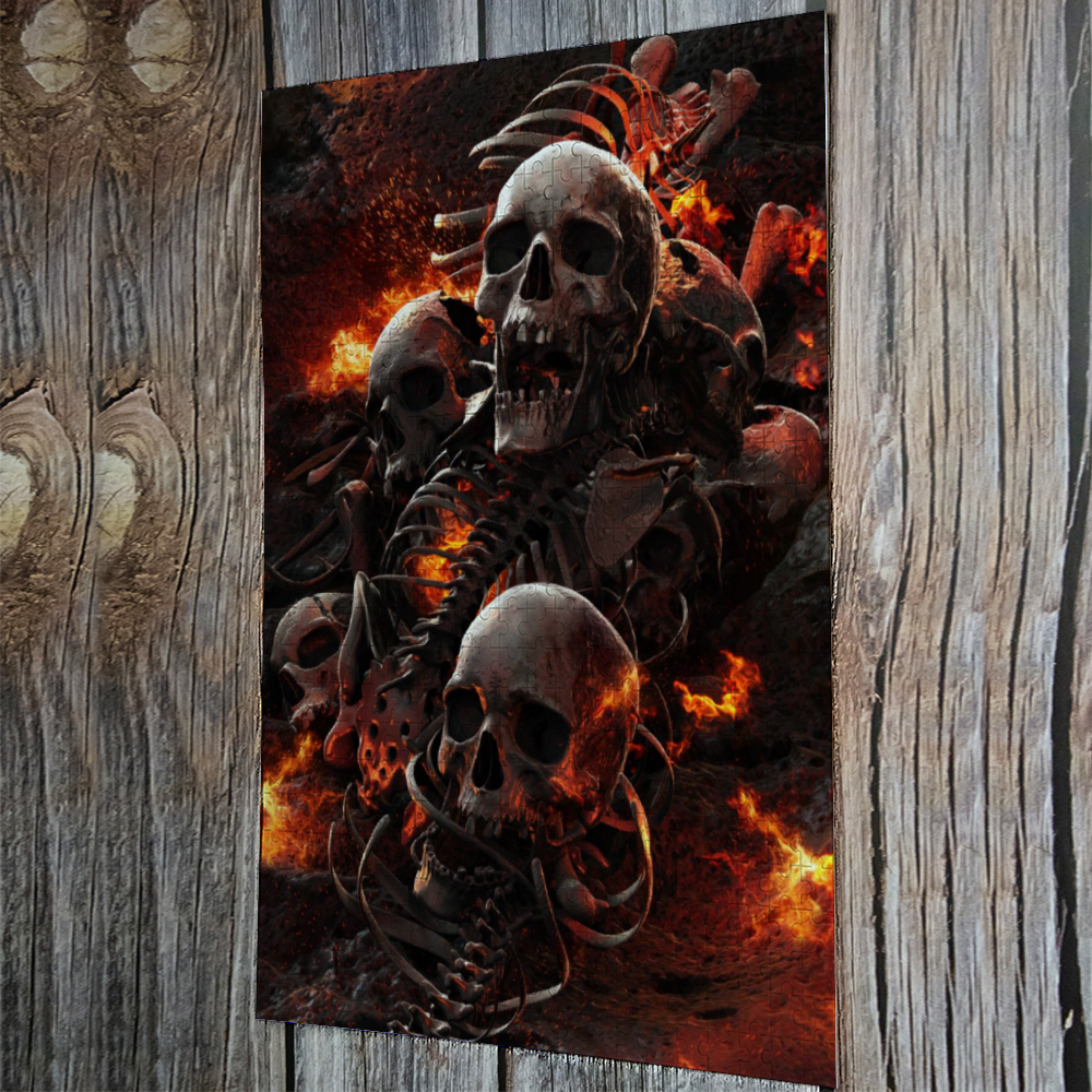 Load image into Gallery viewer, Torment Jigsaw Puzzle Wooden Puzzle (500 Pieces)
